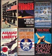 Lot of 6 Aviation Books, Used, mmpb, Good