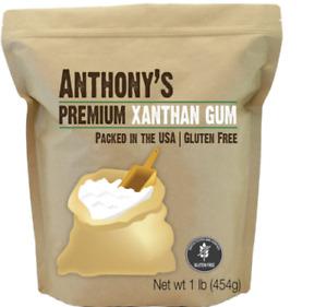Xanthan Gum,Fine Powder,Gluten Free&Keto,Food Grade(1POUND)