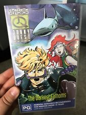 The Real Adventures Of Jonny Quest - The Darkest Fathoms VHS TAPE (90s cartoon)