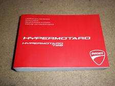 Ducati Hypermotard 796 Owners manual