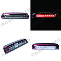 Clear+RED LED 3rd Brake Cargo light Lamp for 14-19 Chevy Silverado+GMC Sierra