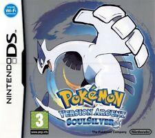 Nintendo DS - Pokemon: Silberne Edition SoulSilver / Version Argent FRA mit OVP