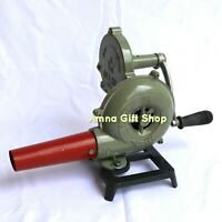 Forge Furnace For Blacksmith Vintage Style With Hand Blower Pedal Type Handle