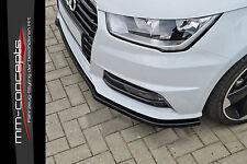 Cup Spoilerlippe für Audi S1 A1 8X Sportback ab Bj. 2014 Front Schwert S-Line IN