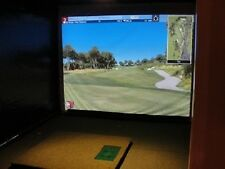 Protee Home Golf Simulator with TGC Software 10 x 12 x10 **Deluxe Model**NEW**