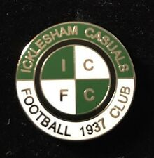 ICKLESHAM CASUALS FC NON LEAGUE FOOTBALL PIN BADGE