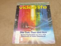 Star Trek The Motion Picture and more Video Life Newspaper 1986 December
