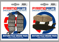 Front & Rear Brake Pads (2 Pairs) for Triumph 900 America 2007