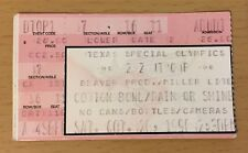 1990 Zz Top Steve Miller Band Santana Cotton Bowl Dallas Concert Ticket Stub