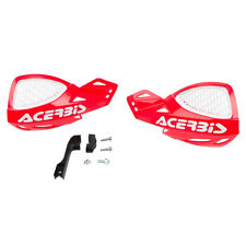 ACERBIS HAND GUARDS UNIKO VENTED RED / WHITE HONDA CR125 CR250 CRF250 CRF450