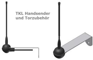 TKL ANT433 Antenne 433 MHz kompatibel zu BFT Funksysteme MITTO KLEIO TRC B RCB