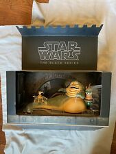 SDCC 2014 Exclusive STAR WARS Black Series JABBA THE HUTT Throne Room Mint