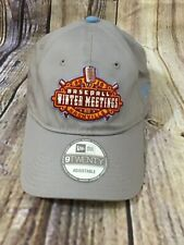 2019 MILB Nashville Baseball Meetings New Era Gray Baseball Cap Adjustable NWT