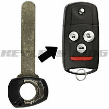 Replacement Fob Remote Car Flip Key Blade for Acura MDX RDX TL TSX ZDX