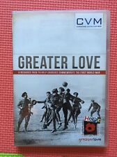 Greater Love:Church Commemorate WW1(UK DVD)Christian Vision For Men 1914-18 War