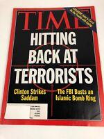 Time Magazine Vintage Issue July 5 1993 Bill Clinton Strikes Saddam - Terrorists