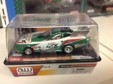 NIP AUTO WORLD ASHLEY FORCE 25TH ANNIV. MUSTANG DRAG RACING F/C HO SLOT CAR