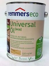 €14/L REMMERS 2,5L Universal Öl Eco Farblos Pflege Möbel Oel Bangkirai Teak TOP