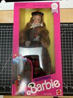Scottish Barbie 1990 Vintage Dolls of the World Collection NRFB Mattel #9845