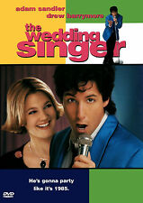 The Wedding Singer (DVD, 1998) Adam Sandler, Movie Video Funny Romantic Comedy