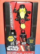 STAR WARS m&m candy Darth Vader gift set. Lightsaber For Ages 5+