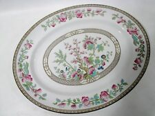 "Antique SAMPSON BRIDGWOOD Anchor SBS Ironstone INDIAN TREE 15.75"" Oval Platter"