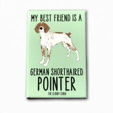 German Shorthaired Pointer Dog Magnet Best Friend Cartoon Pet Art Gift and Decor