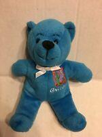 """Symbolz Arizona Blue Bear 8"""" Plush Stuffed Animal"""