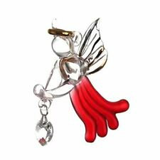 Garnet Red Loving Angel with Swarovski® Crystal in Gift Box Hangings