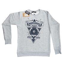 Dsquared2 Sweatshirt grau Größe S  Gr.M Gr L Gr  XXL