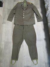 Soviet Officer Uniform Soviet Artillery Lieutenant Colonel Jacket Pants.
