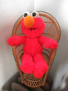 Playskool Plush Elmo Sesame Street Stuffed Animal 1995 Hasbro 15 ins tall