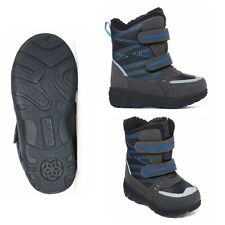 Totes Boy's Toddler Boots, 5 7 8 9 10, Black & Blue, New $60
