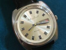Nice Vintage 1960s Mathey Tissot S.S. 17J Automatic Men's Watch w/Date /Day