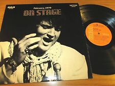 "ELVIS STEREO LP - RCA LSP-4362 - ""ON STAGE"""
