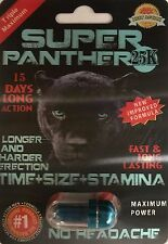 Super Panther 25K Male Sexual Enhancement 3 Pills Pack