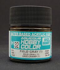 GUNZE SANGYO H32 Field Gray (1) water based acrylic paint 10 ml