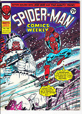 Spider-Man Comics Weekly No.105   : 1975 :   : Snowman Cover! :