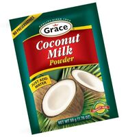 JAMAICAN GRACE COCONUT MILK POWDER - Pack of 12 x 1.76 oz - From Jamaica