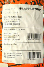 Lapp Steuerleitung ÖLFLEX CLASSIC 110 41G1 qmm  1 Rolle mit 50 mtr 41x1 NEU OVP