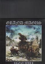 GRAND MAGUS - iron will LP white vinyl
