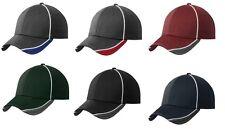 New Era 39Thirty Hex Mesh Stretch Hat / Cap - Blank - Black, Navy, Graphite