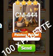 Painter Palette Coin Master 100 cards