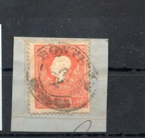 Old classic stamp of Hungary 1858 0 # 13  used typography