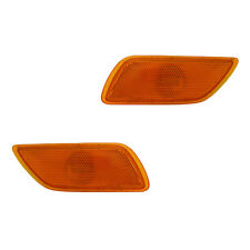 Fits 2000-2007 Ford Focus Driver + Passenger Side Marker Light Assembly 1 Pair