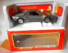 Ferrari GTO Metallic Grey 1/16 Diecast Model Polistil Excellent Condition