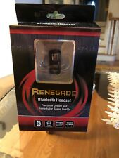 RENEGADE BLUE TOOTH HEADSET - BRAND NEW