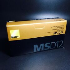 Nikon MS-D12 AA Battery Holder for Battery Pack MB-D12 Original Brand New