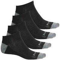 NWT Men's Timberland Lightweight Cotton Blend No-Show Socks 4-Pack Shoe Sz: 9-12
