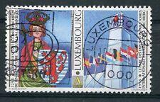 LUXEMBOURG, 1998, timbre 1403, Foire annuelle, oblitéré